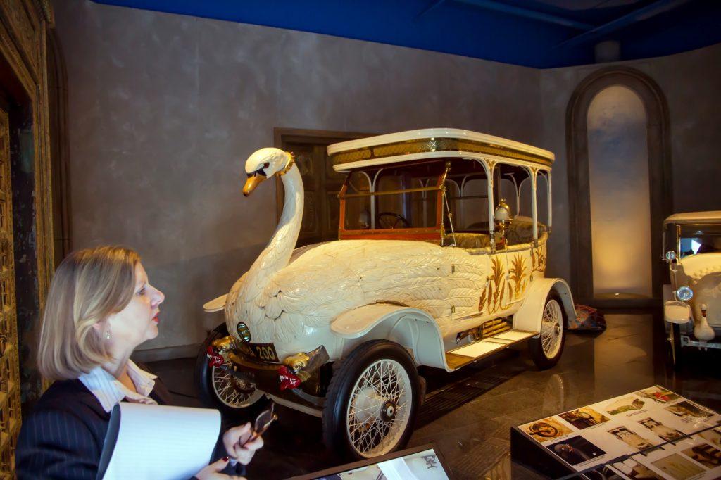 Rondleiding 'Louwman' auto museum